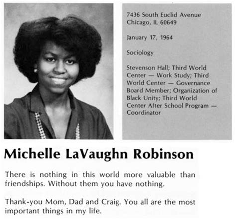 Before Barack Obama: The young Michelle Obama | Public ...
