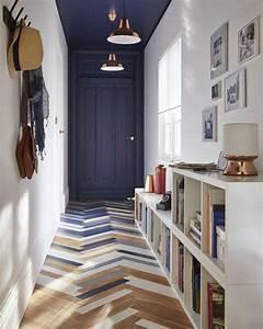 les 25 meilleures idees de la categorie plafonds peints With peindre couloir deux couleurs 14 deco couloir avec parquet et peinture gris anthracite