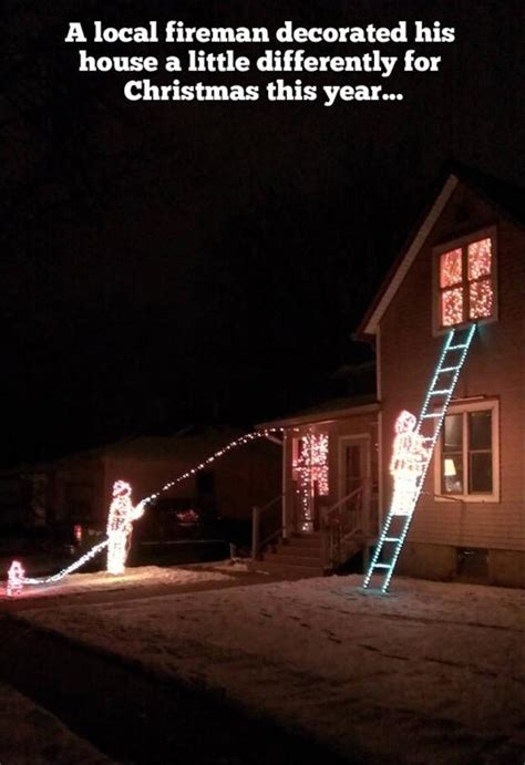 pictures of the day 38 pics - Funny Quotes About Christmas Lights