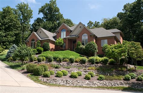 house on hill landscaping luxury house on hill landscaping gardening ideas