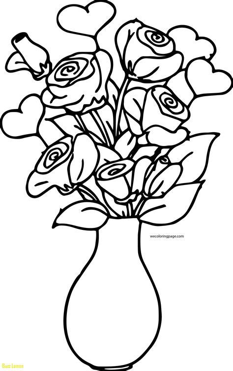 flower vase coloring flower vase coloring pages at getcolorings free