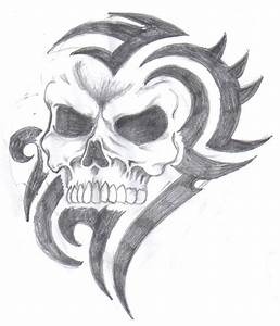 How To Draw A Cool Skull | Male Models Picture
