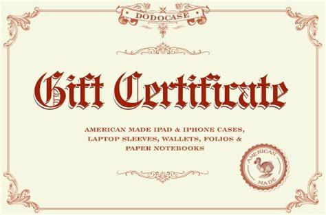 gift certificate customize   phone case
