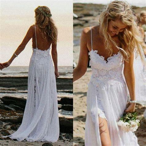Lace Beach Wedding Dress Pinterest Naf Dresses