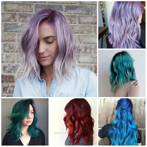 Toned Hair by Purple Best Hair Color Ideas Trends In 2017 2018