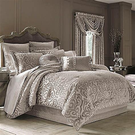 j new york comforter j new york sicily comforter set in pearl bed