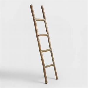 Wood Ladder Decor World Market