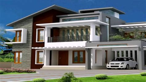 Modern Bungalow House Garage — Modern House Plan Modern