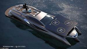 Inside Xhibitionist Megayacht That Looks Like The