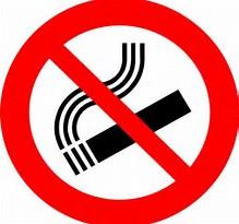 Résultat d'images pour cigarette interdite