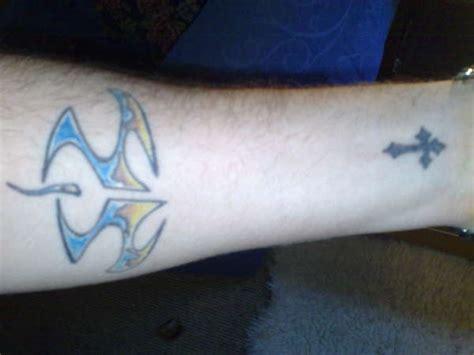 Hitman And Cross Tattoo