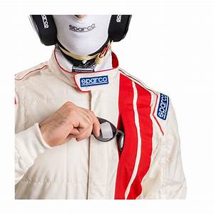 Sparco Italy Classic My19 Race Suit White Fia