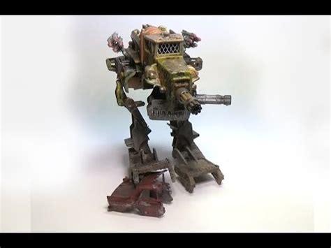 custom mad max battlemech   hot wheels