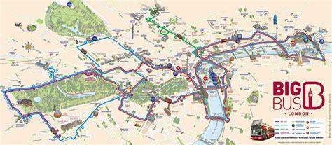 Icons on the london interactive map. Touristischen karte von London : Sehenswürdigkeiten und Touren