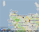 Map of Burnie, Tasmania | Hotels Accommodation