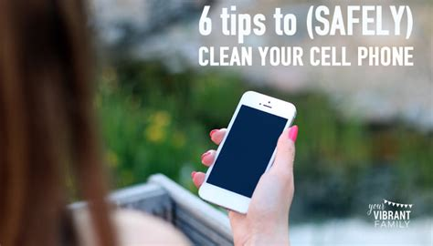 how to clean phone all diy cell phone screen cleaner 3 ingredients