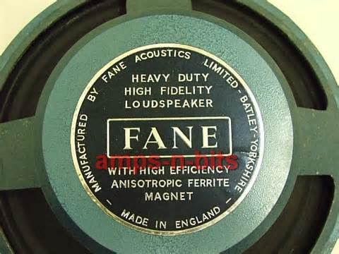 Used Guitar Cabinets by Fane Guitar Speakers