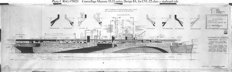 bureau dwg cvl 22 uss independence drawing prepared by the bureau of