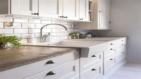 Concrete Countertop Kitchen, Concrete Countertops With