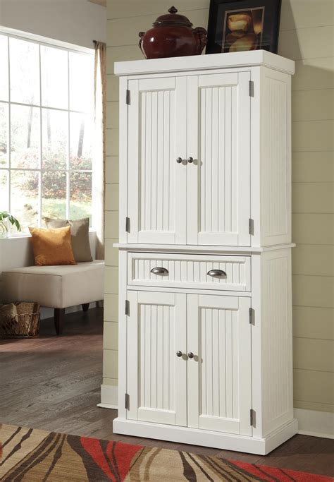 home styles   nantucket pantry distressed white