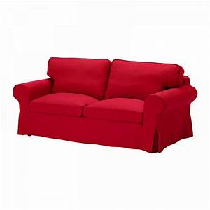 Ikea ektorp sofa bed slipcover cover idemo red sofabed cvr for Red sofa slipcovers