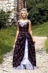 gorgeous wedding dress tartan wedding dress With scottish tartan wedding dress