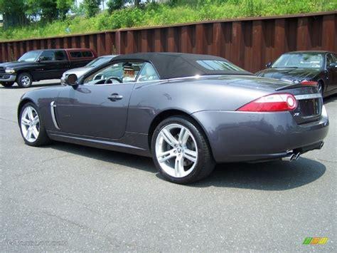 pearl grey metallic  jaguar xk xkr convertible