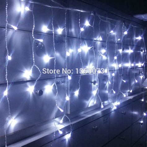 how to buy led christmas lights aliexpress com buy 4 0 6m 96 led fairy string curtains