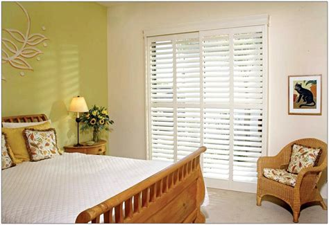 sliding glass door blinds ideas interior exterior