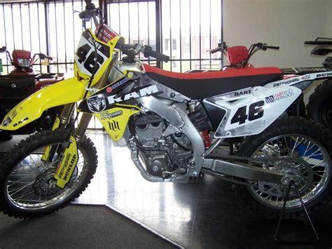 Suzuki 450 Dirt Bike by 2012 Suzuki Rm Z 450 Dirt Bike For Sale On 2040motos