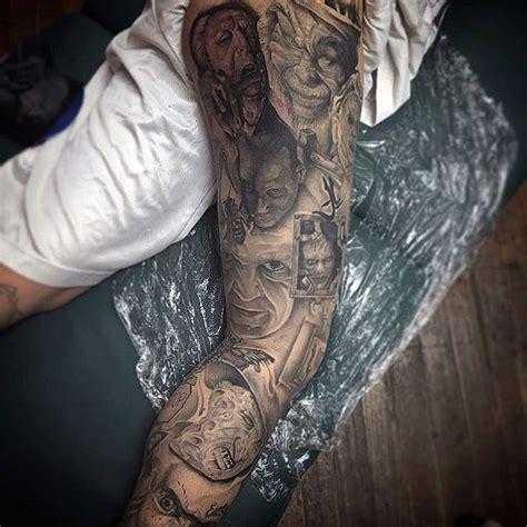 thigh tattoos  men manly ink designs