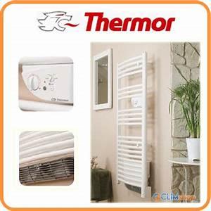 Thermor Seche Serviette : chauffage thermor radiateur s che serviettes riva 2 galb ~ Premium-room.com Idées de Décoration