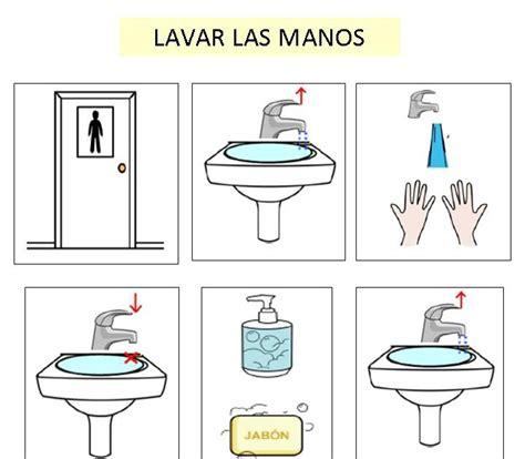 autismus arbeitsmaterial bilder haende waschen