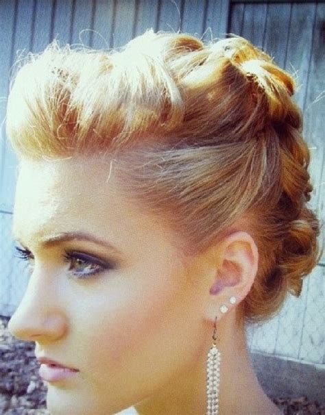 casual updos  short hair hairstyle ideas