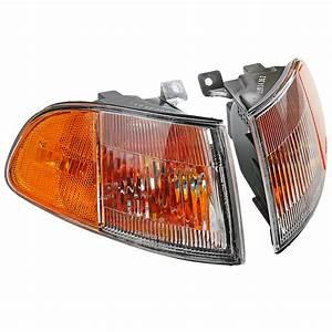 Usdm Corner Indicator Light Lamp For Honda Civic Eg Eg6 Eh