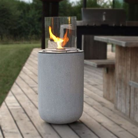 Feuerstelle Ethanol Garten by Muenkel Design Boston Ethanol Feuerstelle Beton Optik