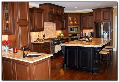 what color countertops go with oak cabinets what color granite countertops with oak cabinets