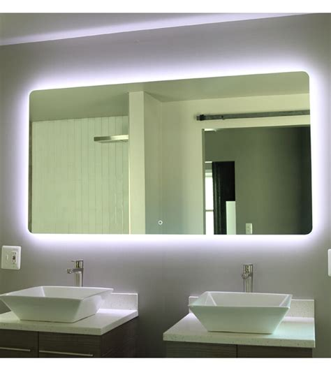 windbay 48 quot backlit led light bathroom vanity sink mirror