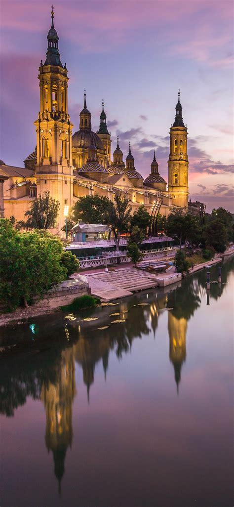 Fran gámez se estrenó con gol como zaragocista. Wallpaper Spain, Zaragoza, Cathedral, river, lights, night ...