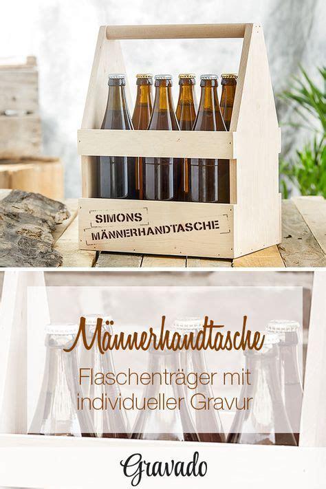Maennerhandtasche Biertraeger Aus Holz Selber Basteln by Flaschentr 228 Ger Aus Holz Mit Gravur M 228 Nnerhandtasche