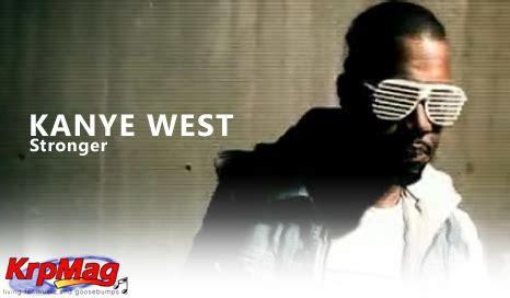 Watch Kanye West  Stronger  Krpmag Dot Com