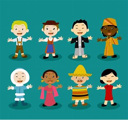 Multicultural Vector Characters Culture Freepik Education Learning