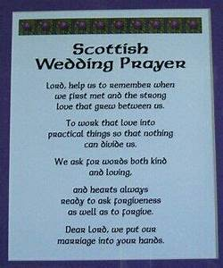 scottish wedding prayer fun wedding items pinterest for wedding shower blessings