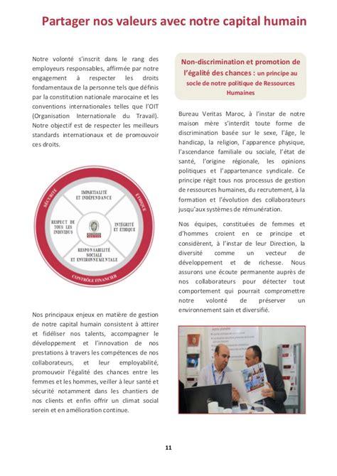 rapport rse de bureau veritas maroc 2015 2016