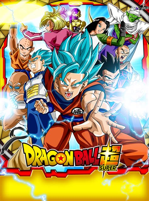 poster universo  dragon ball super  jaredsongohan