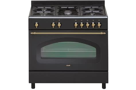 sauter cuisine piano de cuisson sauter scm690e retro noir scm690e