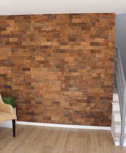 Red Flooring   Sunny Ripple 4mm Cork Tiles