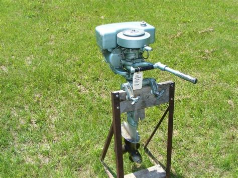 Outboard Boat Motor Values by Vintage Antique 1936 9 3 Hp Johnson Seahorse Outboard Boat