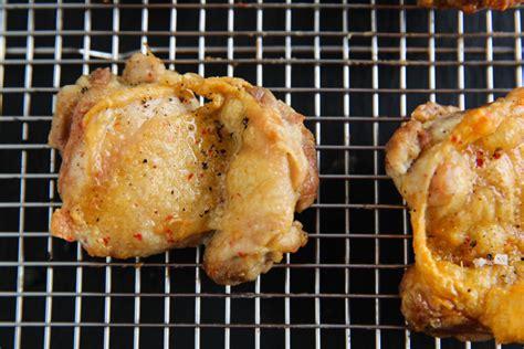 fryer chicken thighs air crispy paleomg