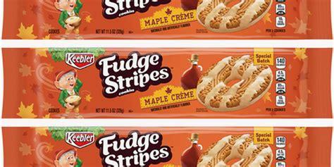 keeblers fudge stripes maple creme cookies